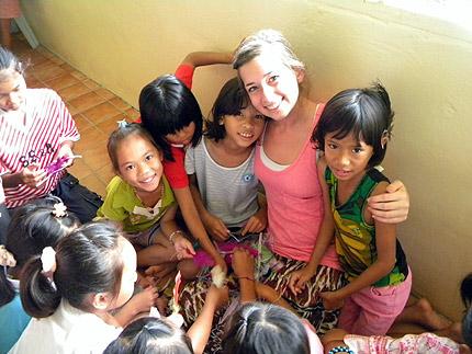 PFO volunteers in Thailand