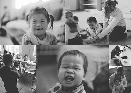 Orphans helped in China